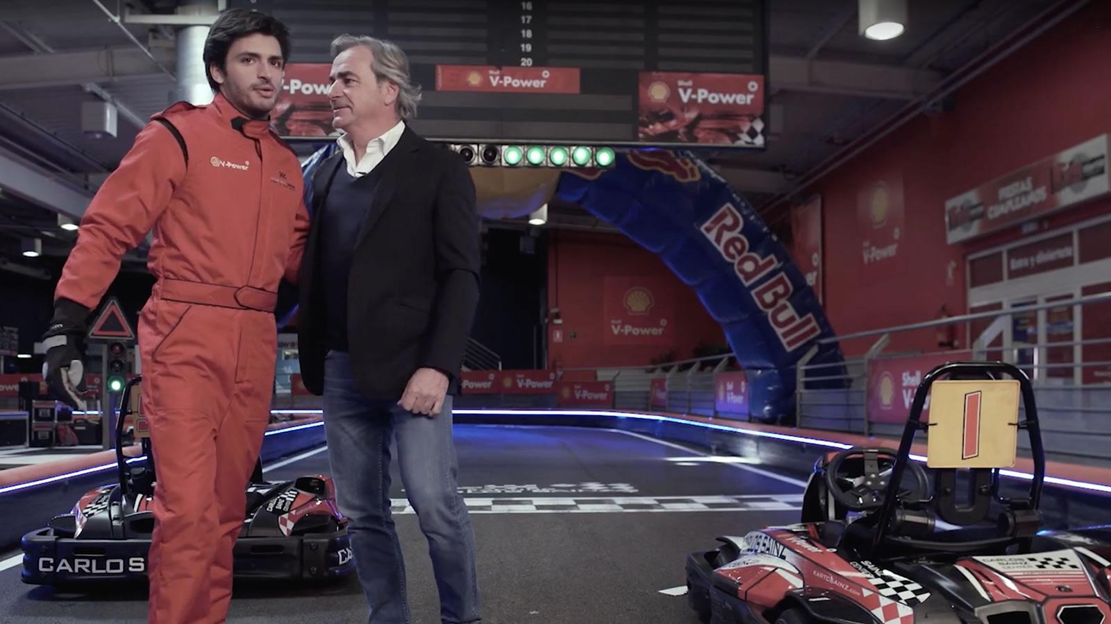 Karting Carlos Sainz